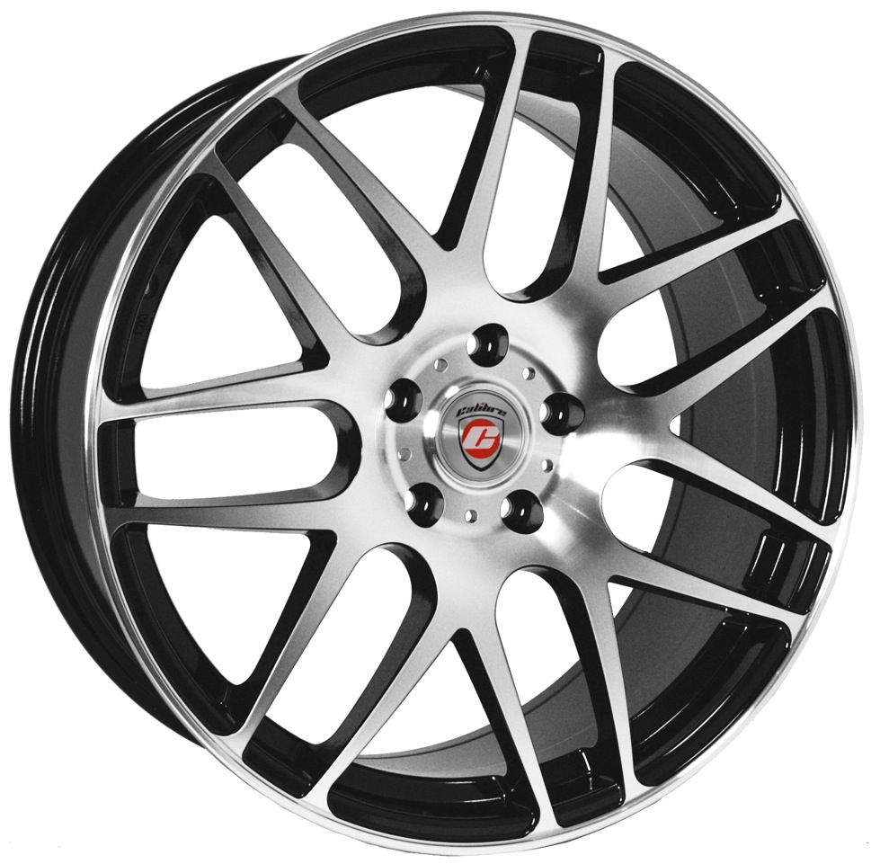 "Calibre Exile (Black / Polished Face) 20"" T5 Wheels & Tyres"