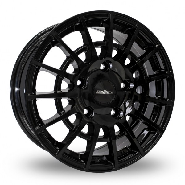 "Calibre T-Sport 20"" Alloy Wheels with Tyres (Gloss Black)"