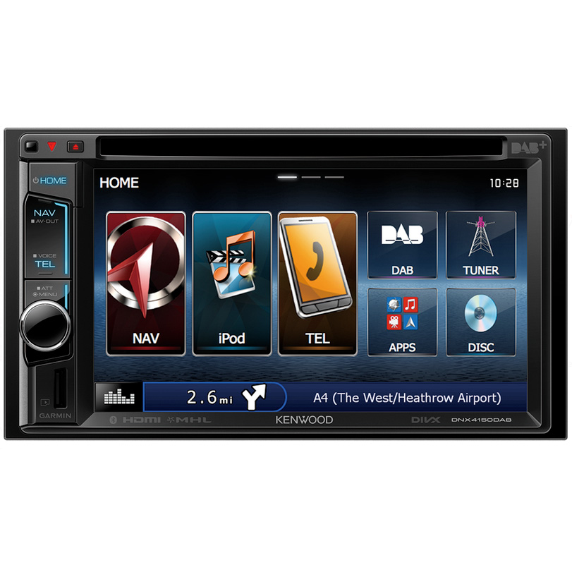 KENWOOD DNX-4150DAB Double DIN Head Unit