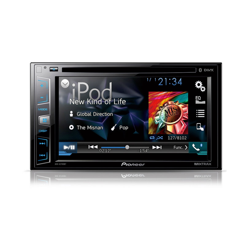 Pioneer AVH-X3700DAB Double Din Head Unit