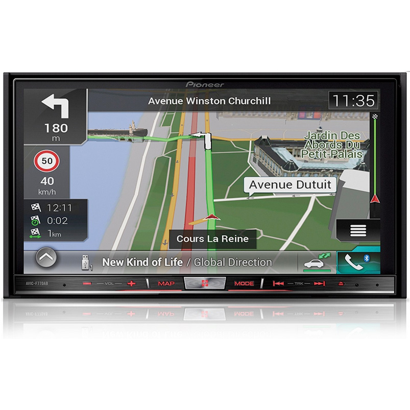 PIONEER AVIC-F77DAB Double DIN Head Unit