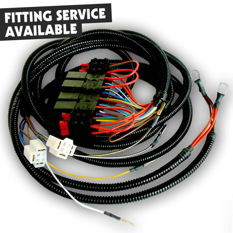 Vw T4 Headlight Upgrade Wiring Diagram: Vw T4 Headlight Upgrade Wiring Loom  Diagram   Somurich