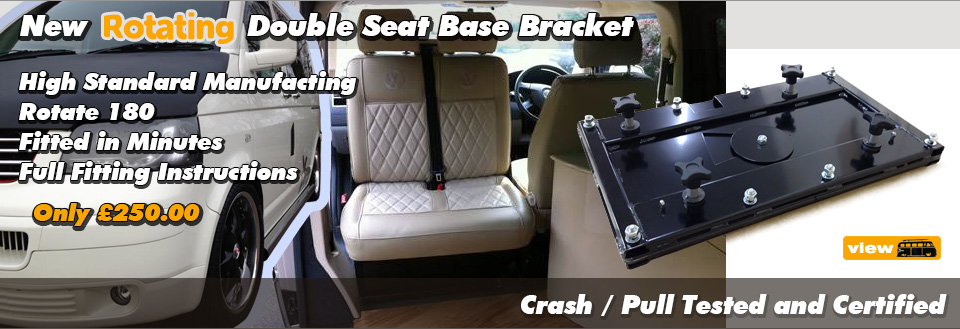 T4 T5 VW Swivel Seat Base Bracket by xtremevan