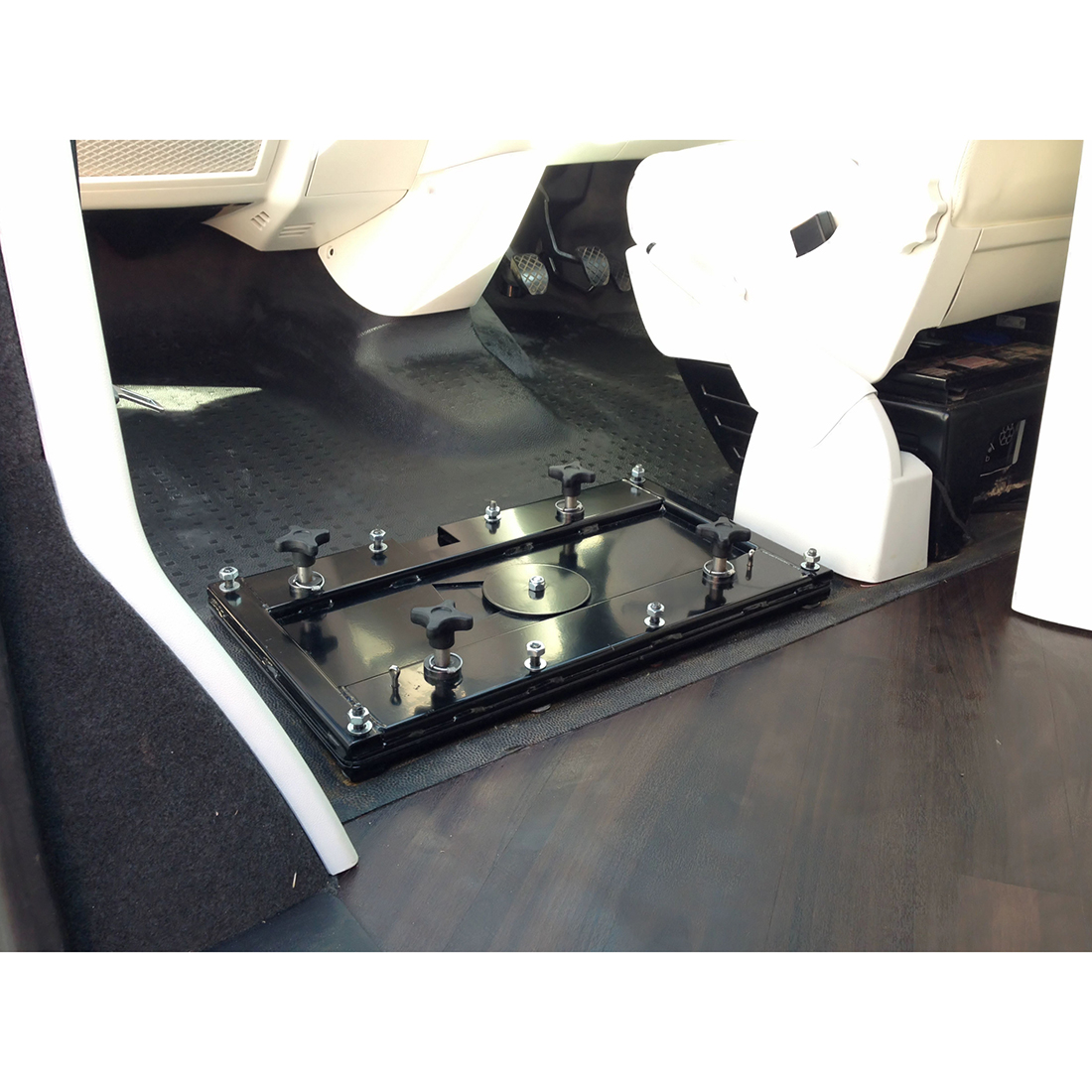 T4 Double Rotating Seat Base, VW T4 T5 Xtreme Van   For All Your Xtremevan  Conversion Needs