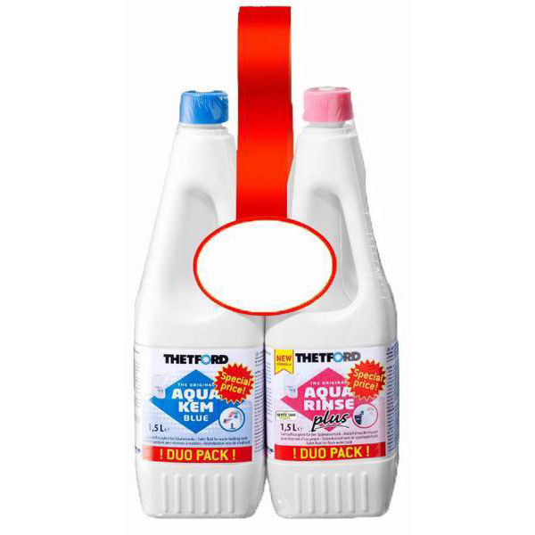 Thetford Duo Pack - 1.5ltr AK