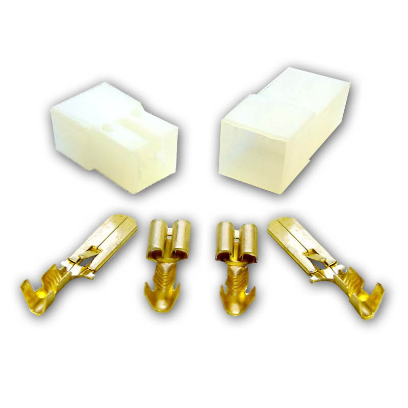 2 Way Spade Tab Connector Vw T4 T5 T6 Xtremevan