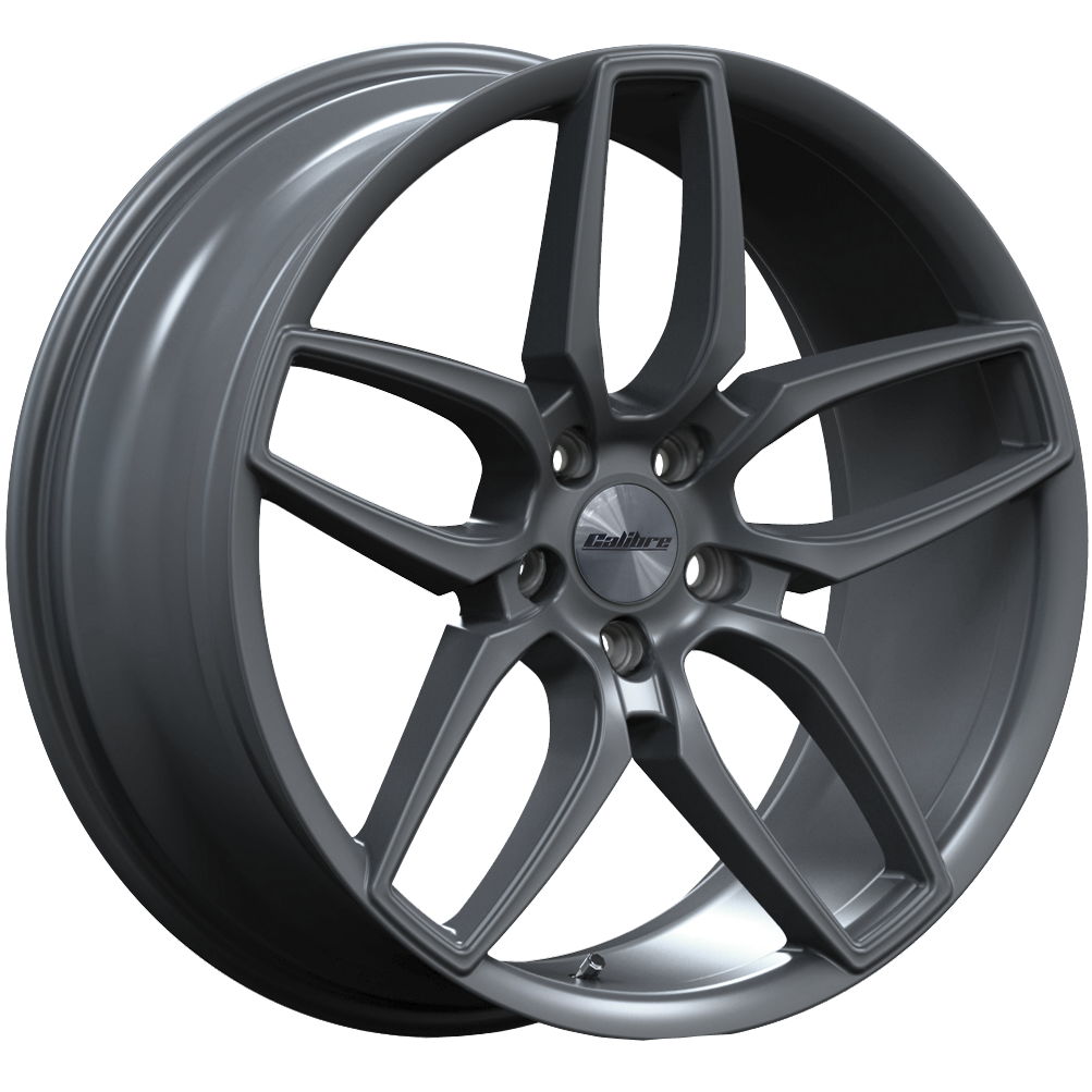 "Calibre CC-U Matt Gunmetal 20"" for T5 / T6 Wheels with Tyres"