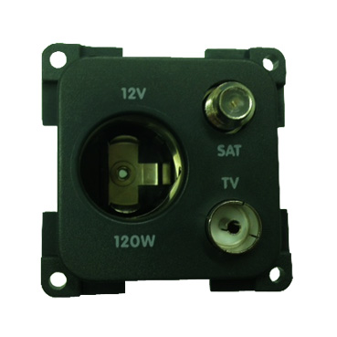 CBE 12V Accessory Socket with TV & Satellite Ariel