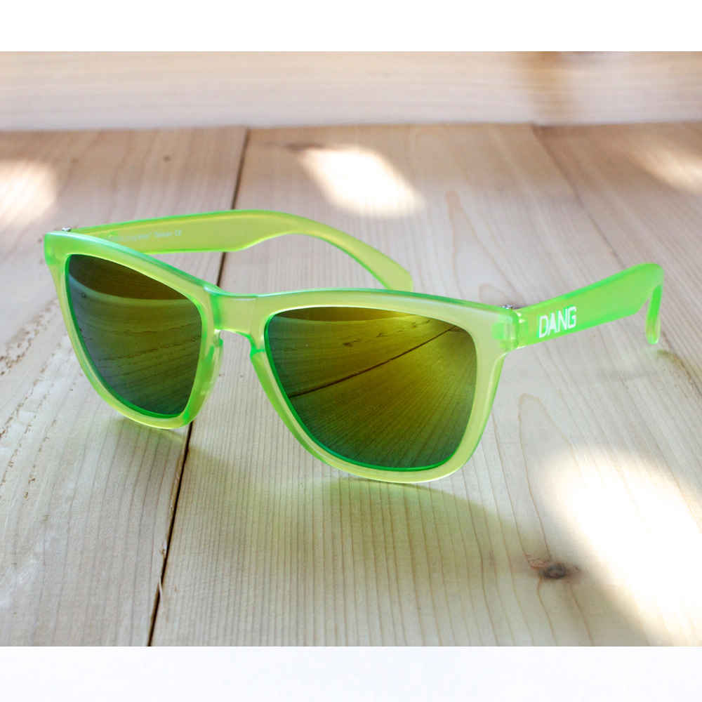 DANG Frost Green X Gold Sunglasses