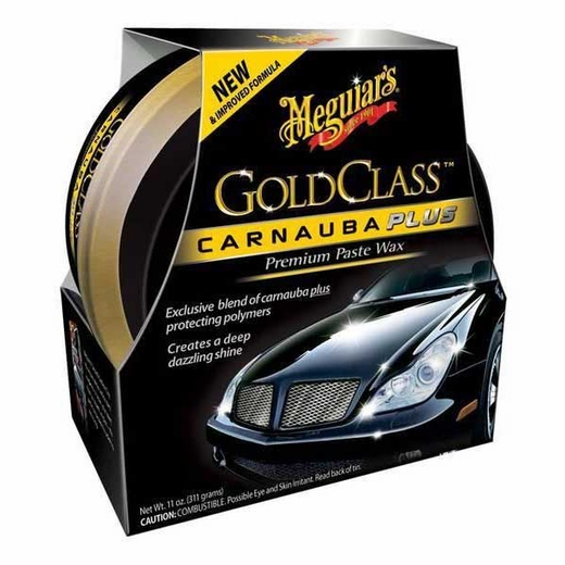 Meguiars Gold Class Clear Coat Paste Car Wax