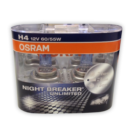 Osram Night Breaker Unlimited H4 Bulb