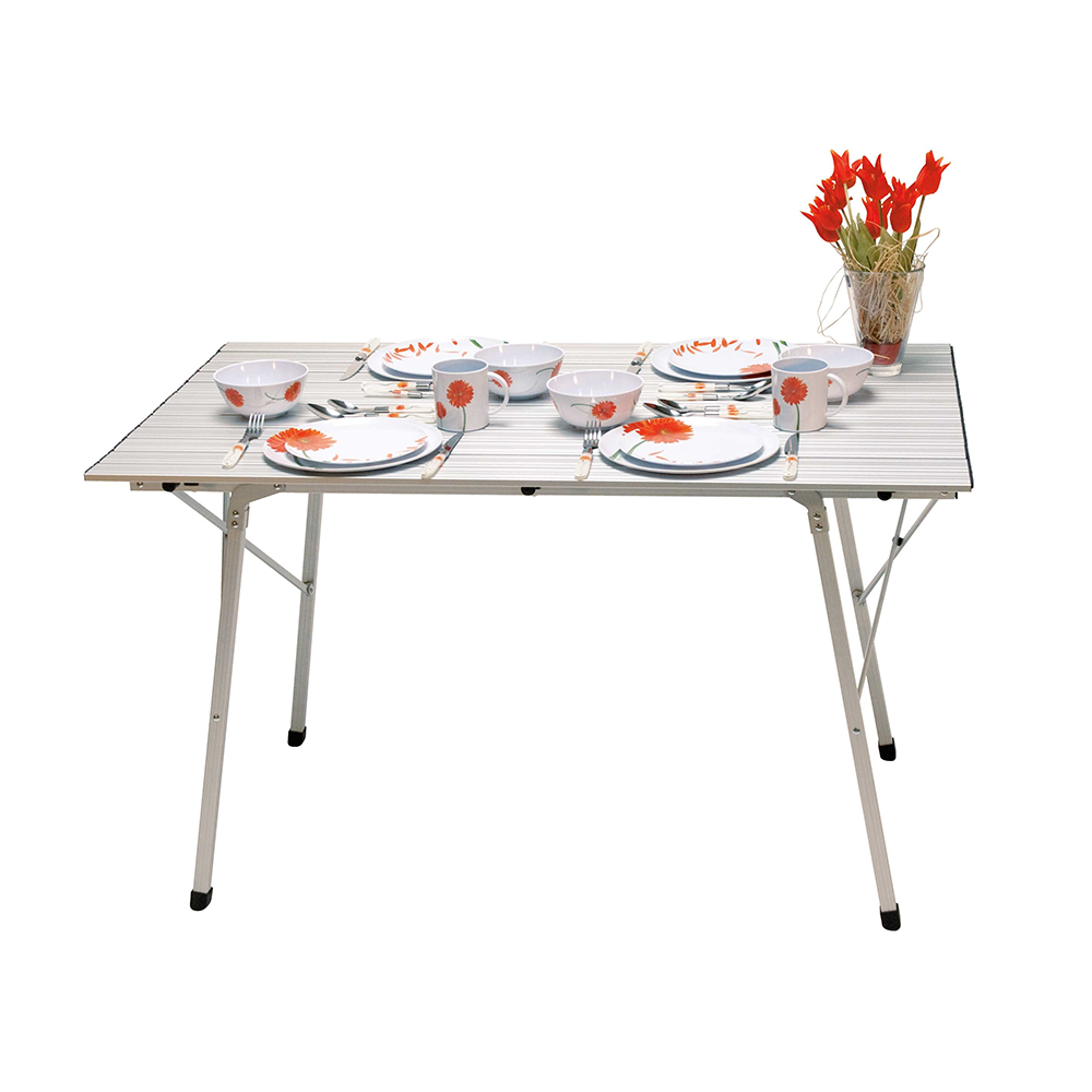 Slatted Folding Table (120cm x 70cm)
