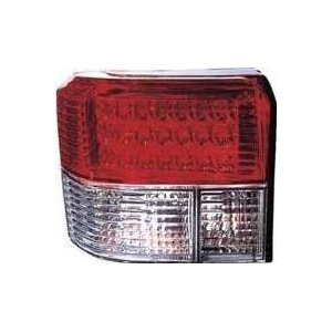 T4 Rear Lamp Clear / Red LED Style (90-03) Pair