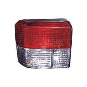 T4 Rear Lamp Crystal Clear / Red (90-03) Pair