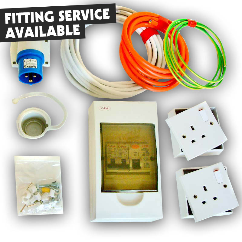 t4 t5 mains hook up kit 240v (rcd protected) electrical power, vw t4 t5 xtreme van for 240v hook up wiring diagram at fashall.co