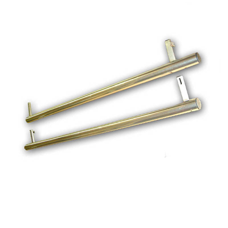 Caddy Side Bars 60mm Stainless Steel Vw T4 T5 T6