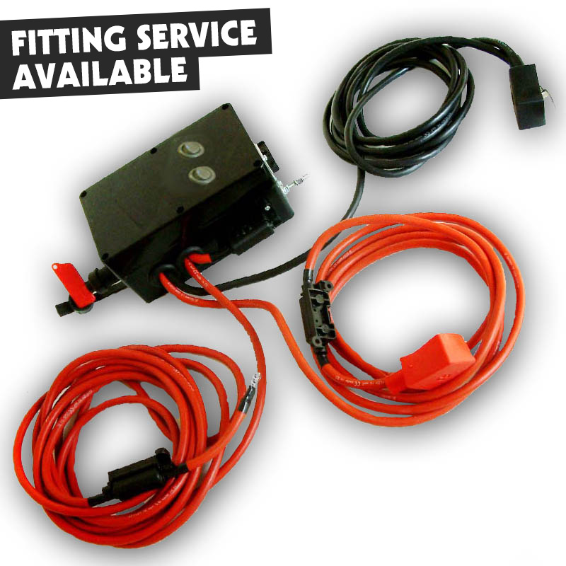 140Amp Heavy Duty Split Charging System Inc.Switch