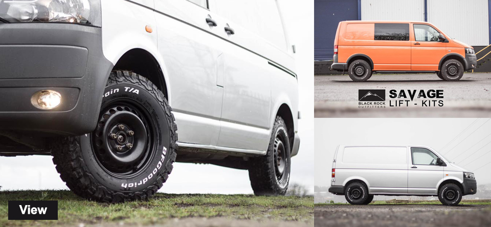 xtremevan VW T6 SaVage Lift Kits - Off Road Look