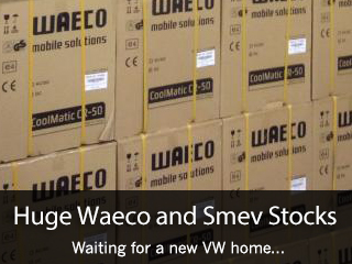 waeco fridges VW T4 T5