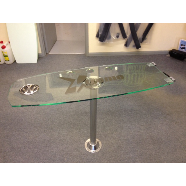 Large Wakeboard Table with 3 Holes