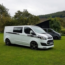 Fitted HiLo, M1 Crash Test Approved Elevating Roof (Ford transit Custom)