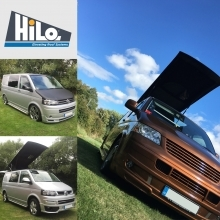 Fitted HiLo, M1 Crash Test Approved Elevating Roof (VW T5/ T5.1/ T6)