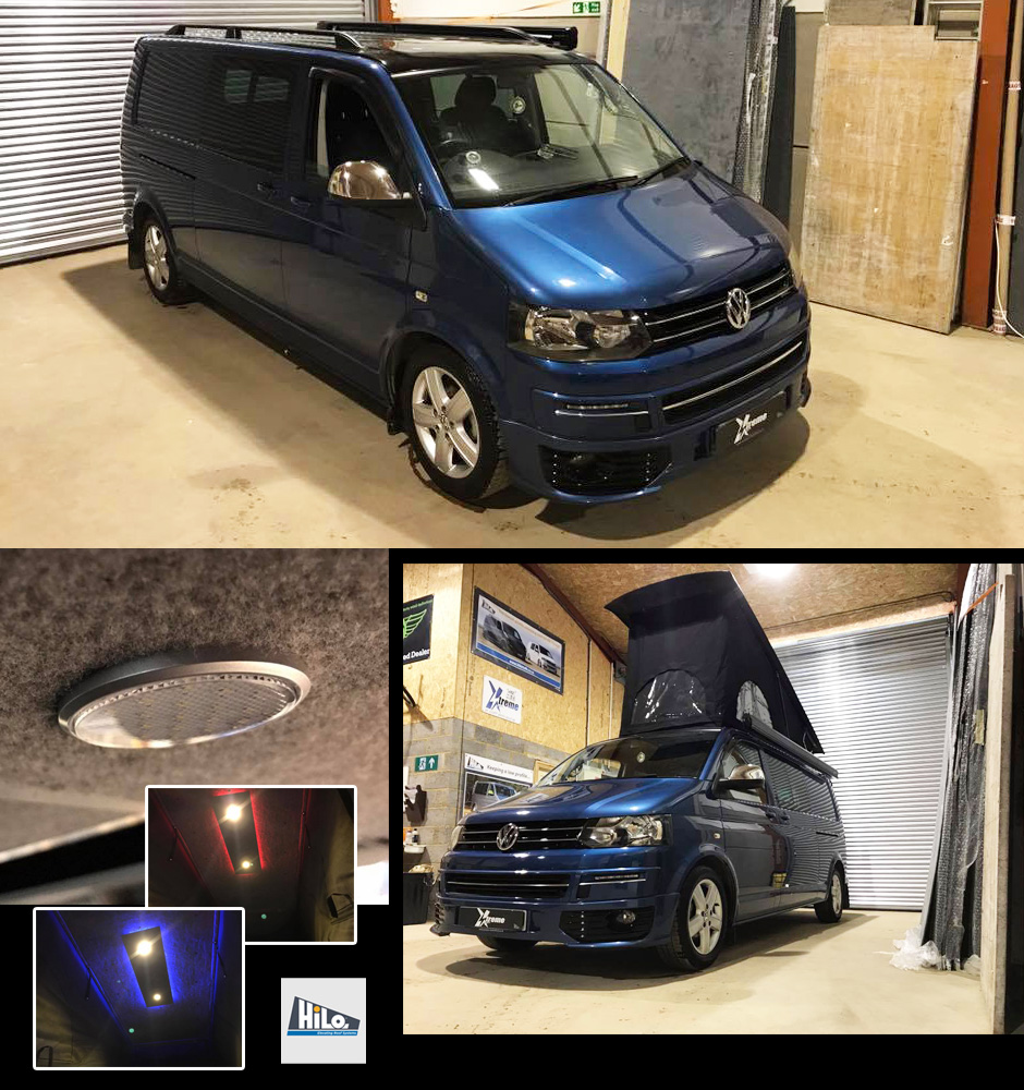 xtremevan hiloroof fitters midlands vw pop top roof