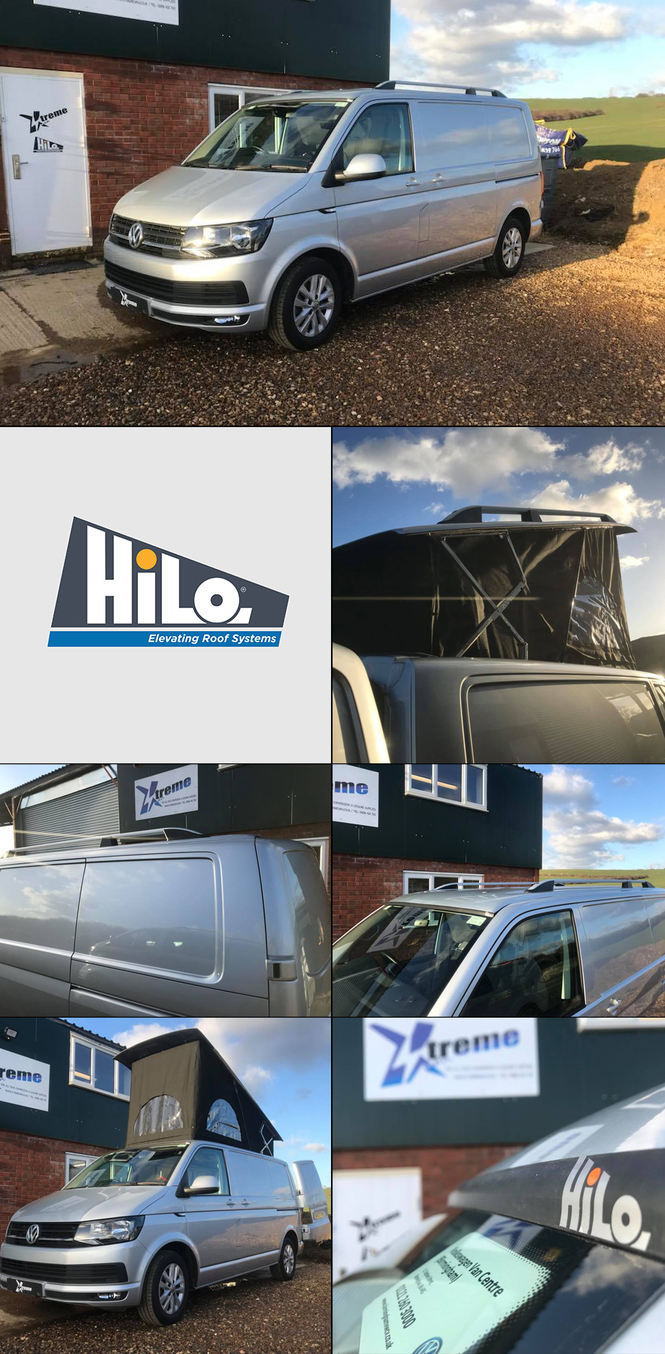 vw hiloroof fitters and van conversions xtremevan