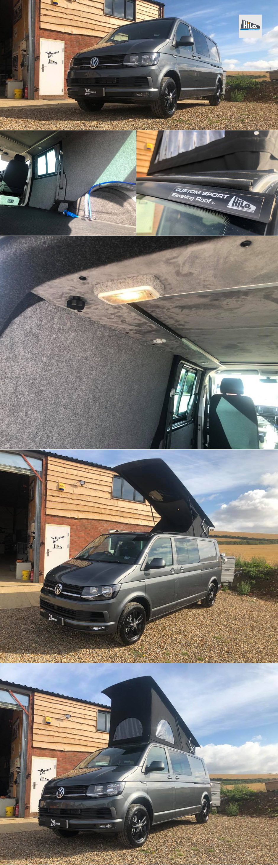 xtremevan hiloroof fitters van conversions