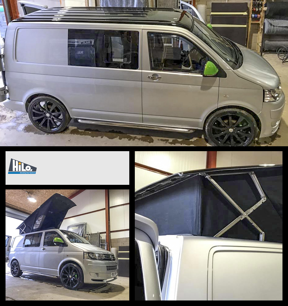 xtremevan hiloroof poptop roof fitters