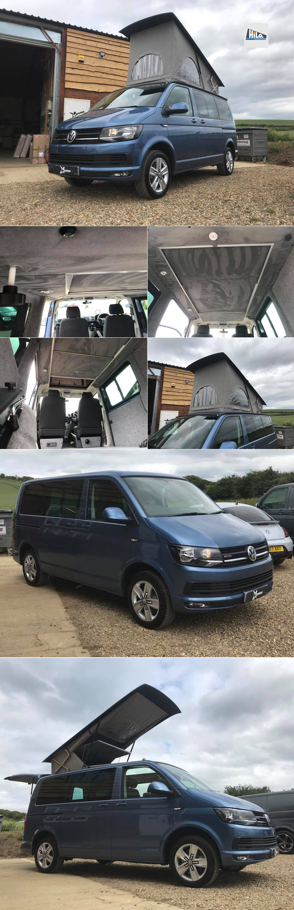 hiloroof vw t6 xtremevan east midlands