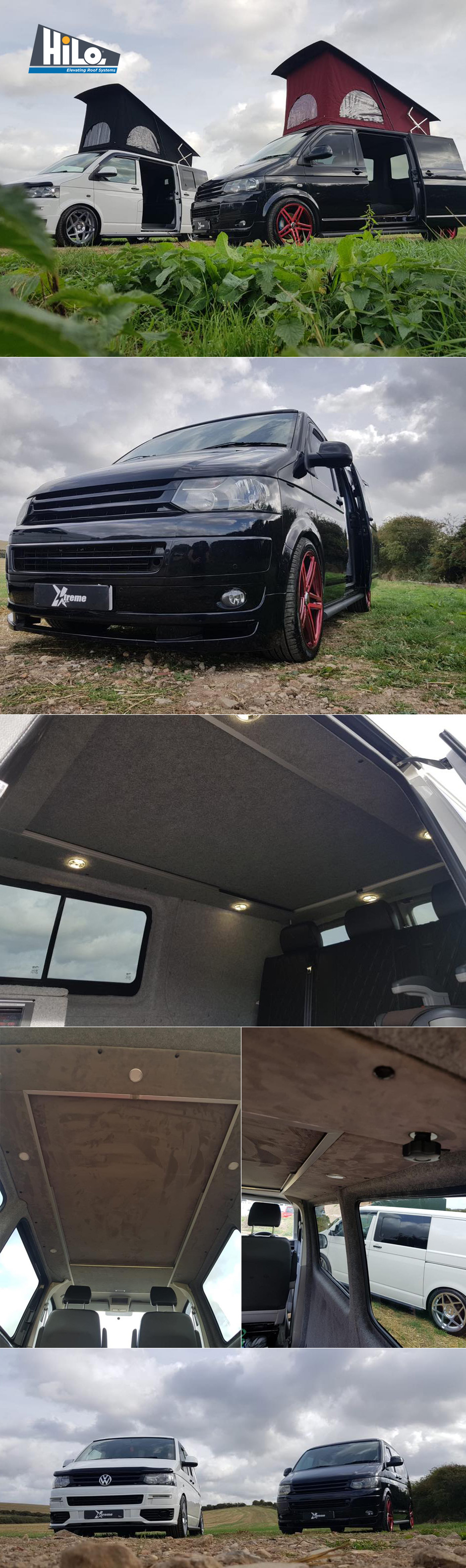 xtremevan hiloroof fitters and vw van conversions