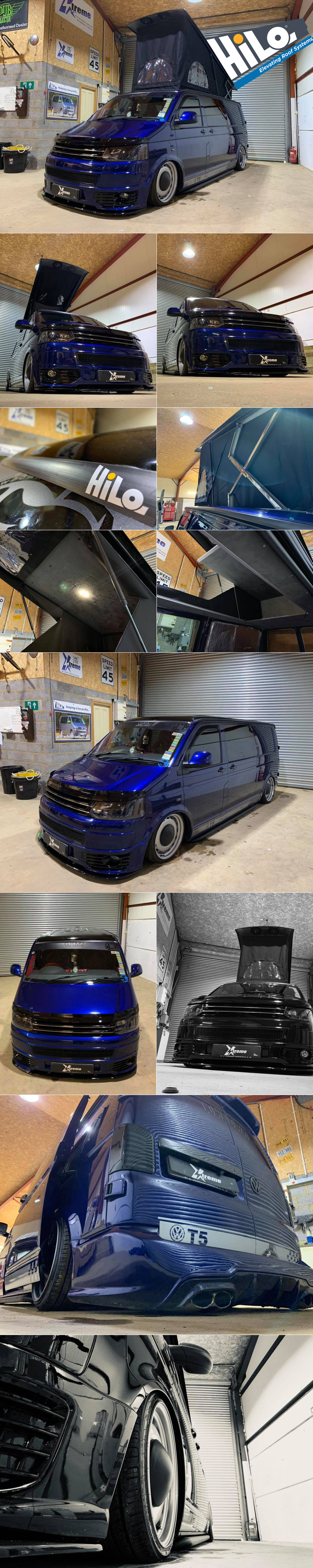 vw t6 hiloroof fitters midlands xtremevan