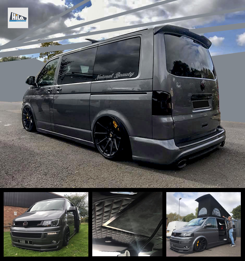 hilo roof vw t5 t6 ford custon xtremevan