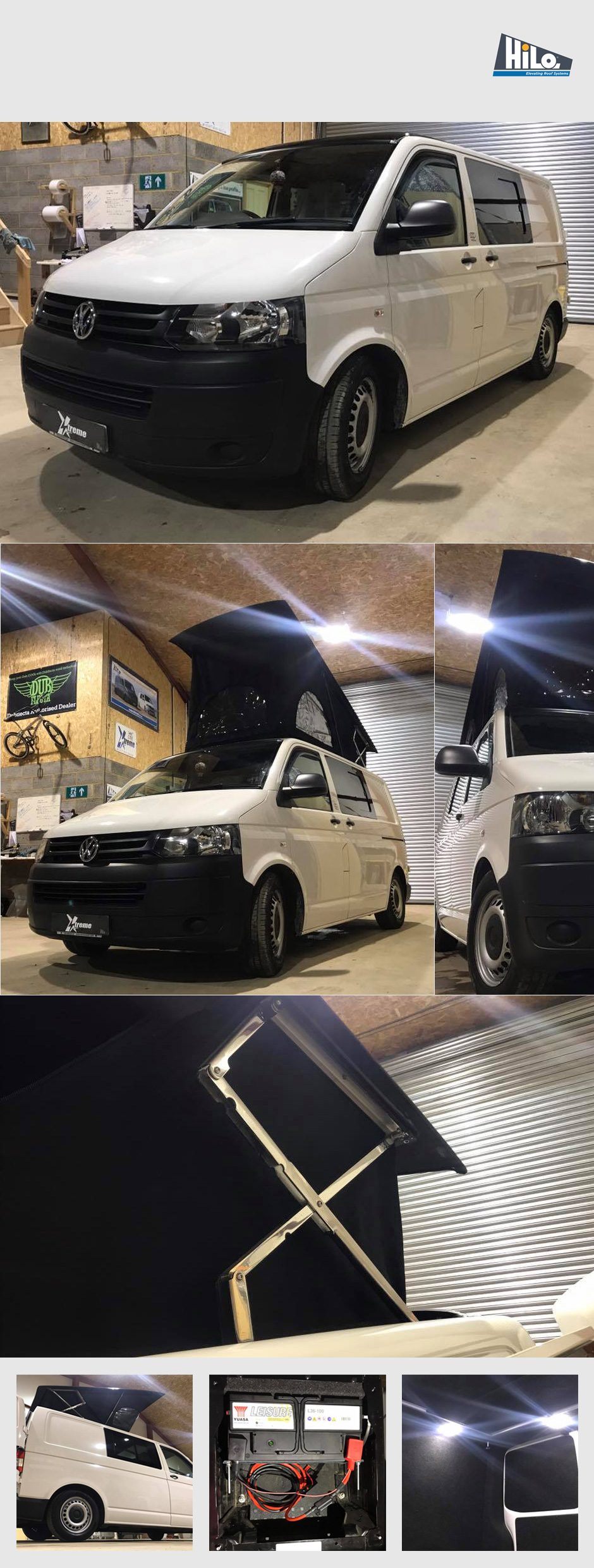 hilo roof fitters xtremevan vw conversions