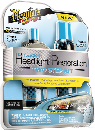 Meguiars Perfect Clarity 2-step Headlight Kit
