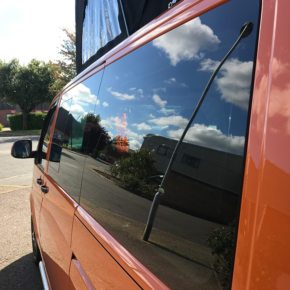 VWT5 / T6 Rear QTR LWB Blanking Glass Near Side