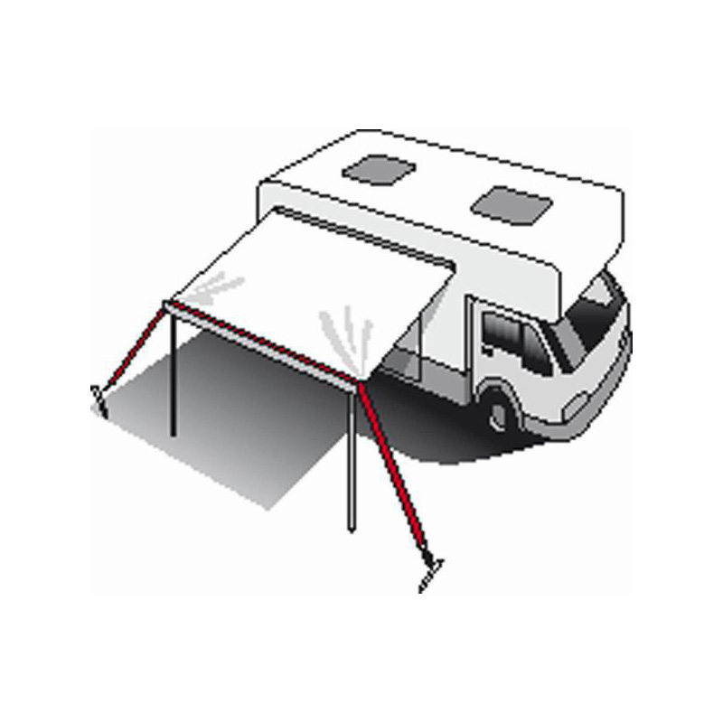 Roll Out Awning Tie Down Kit