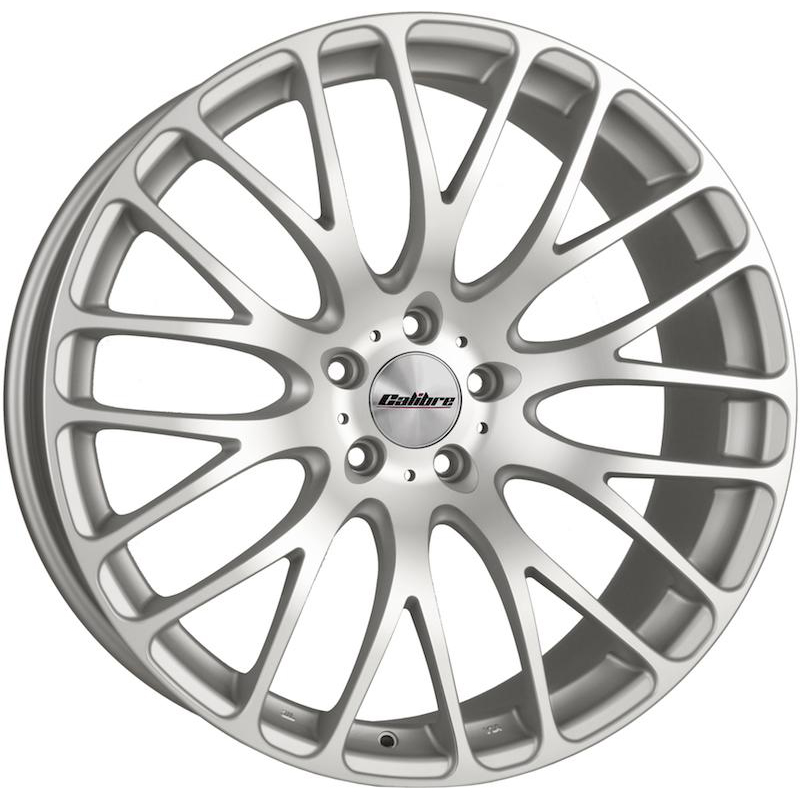 "Calibre Altus Silver Matt Polished Face 20"" T5 Wheels with Tyres"