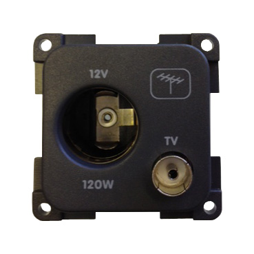 CBE 12V Accessory Socket with TV Ariel