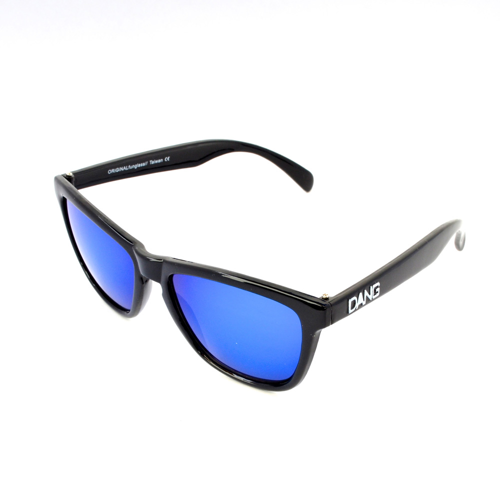 DANG Gloss Black X Blue Sunglasses