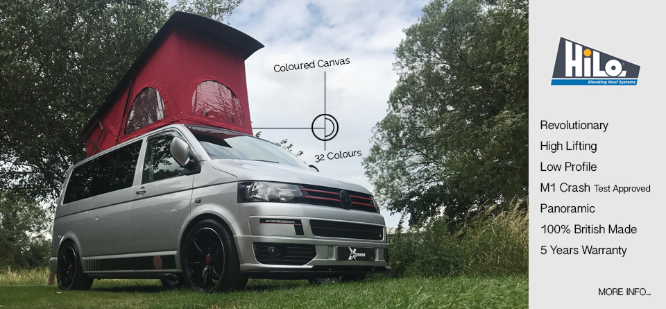 xtremevan t4 t5 hilo roofs pop top conversion