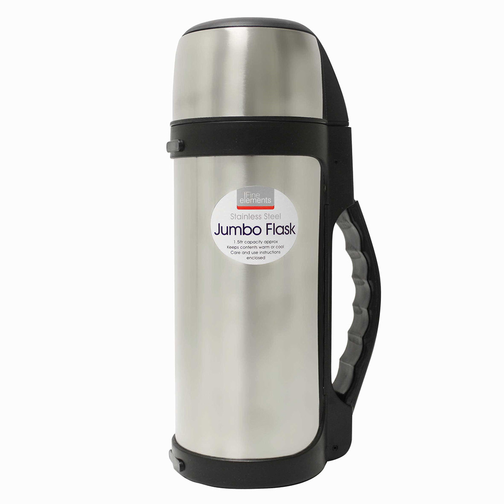 Jumbo Stainless Steel Flask
