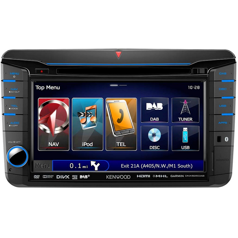 KENWOOD DNX-525DAB Double DIN Head Unit