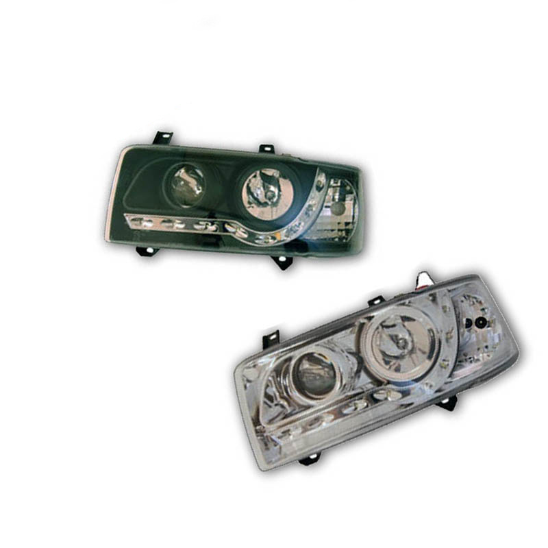 VW T4 Headlamp Set - Bulb Indicator