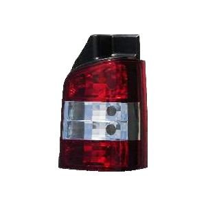T5 Rear Lamp Crystal Clear/Red (03-10 1 Door) Pair