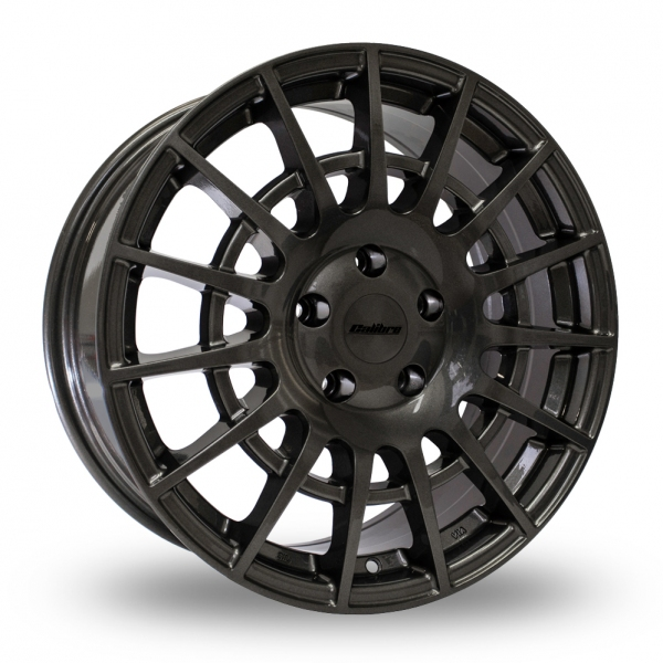 "Calibre T-Sport 18"" Alloy Wheels with Tyres (Gun Metal)"