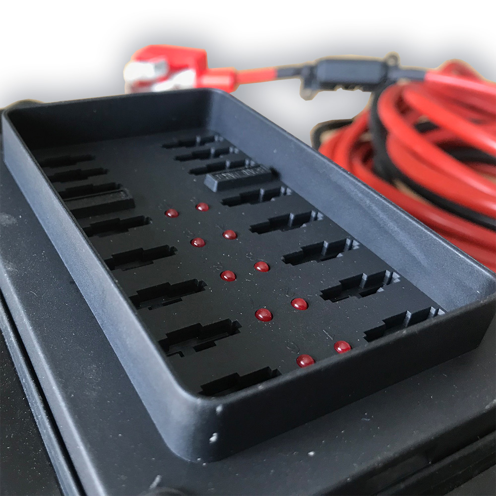 Split Charging Kit 140 Amp Heavy Duty System Vw T4 T5 T6 Xtremevan Wiring A Charge Relay Camper Conversions Leicestershire Charger Kits Authorised Dealers Of Hiloroof