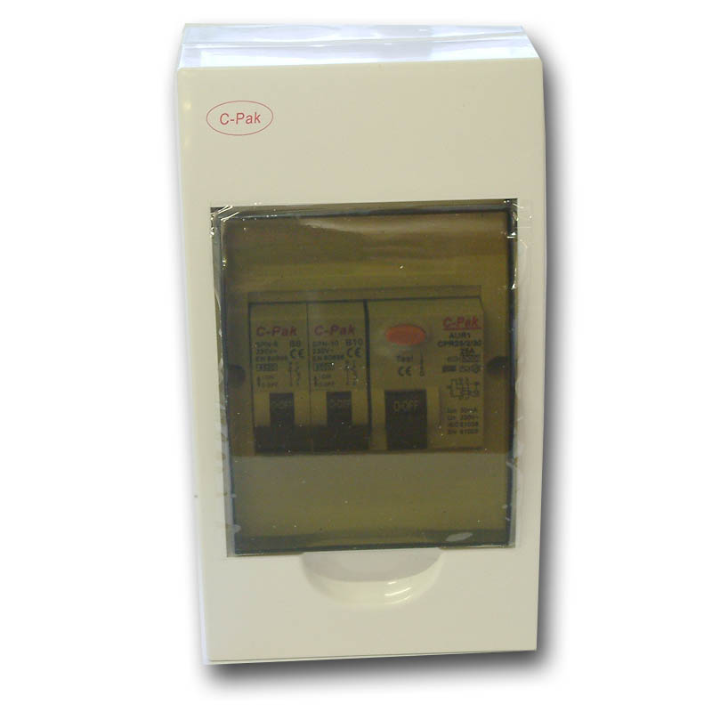 240V (RCD Protected) Consumer Unit