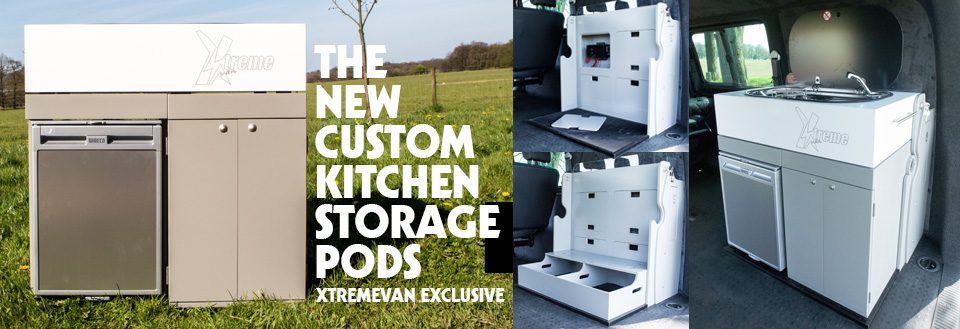 xtremevan t5 t5 camping kitchen storage pods